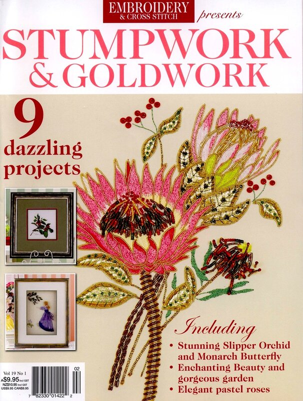 Embroidery & Cross Stitch Vol.19 №1 2011