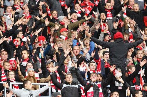 Спартак - Томь 4:0 23-10-2011