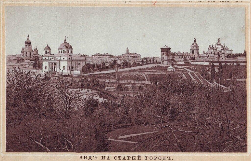 Конверте графические, старые открытки г. владимира