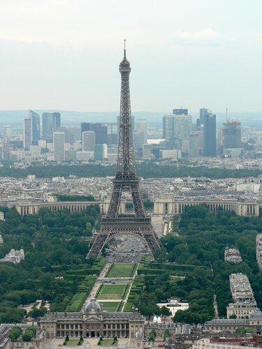 Виды с башни Монпарнас на Париж