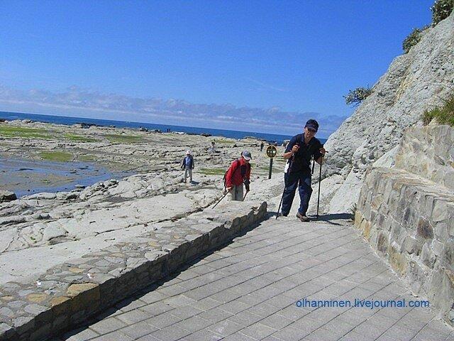 Братья по разуму относительно скандинавской ходьбы из Новой Зеландии, Каикоура