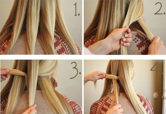 детские причёски для девочек пошаговое фото