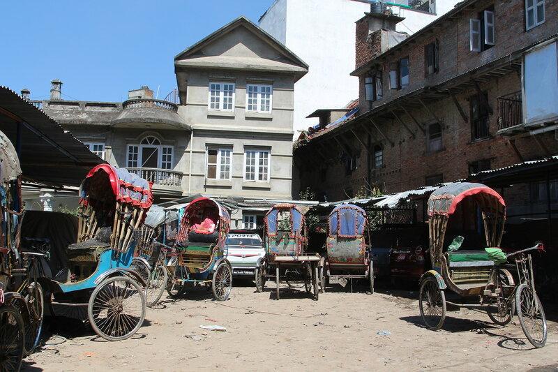 Транспорт в Катманду