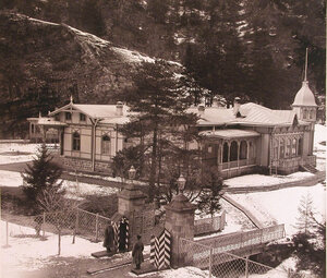 Общий вид дворца великого князя Георгия Александровича.