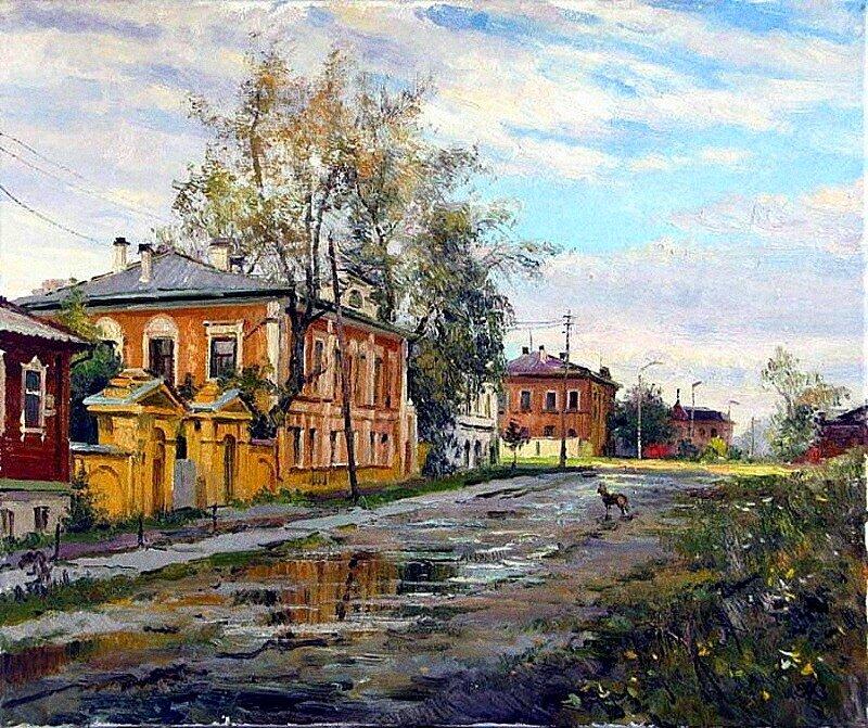 А.В. Ефремов. Осень в старом городе