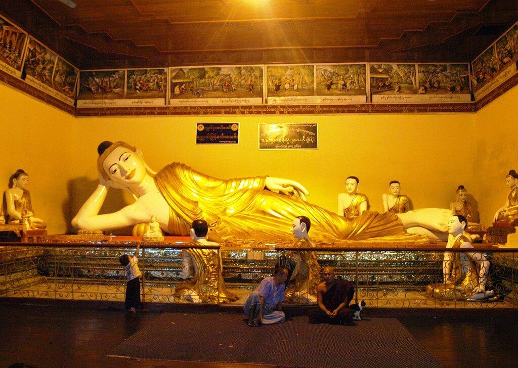 Сезон дождей в Янгоне. Ч.5. Все золото Шведагона