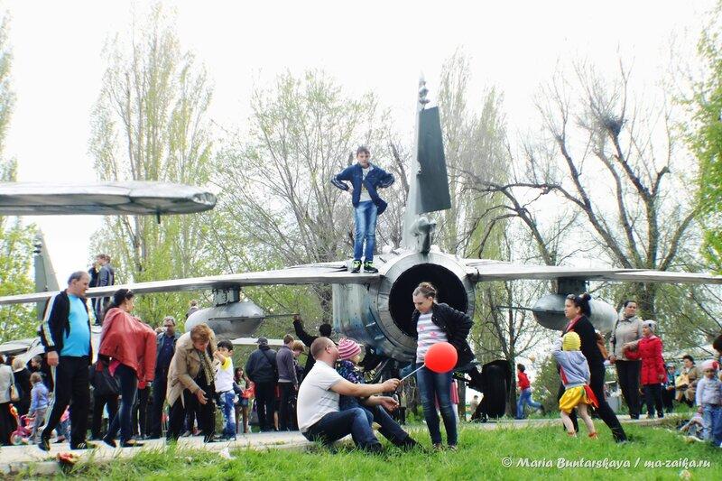 День Победы в Парке Победы, 09 мая 2014 года