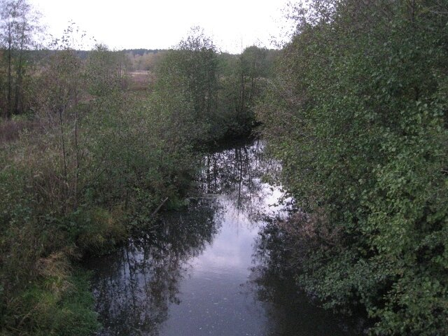 река Средник вид с моста