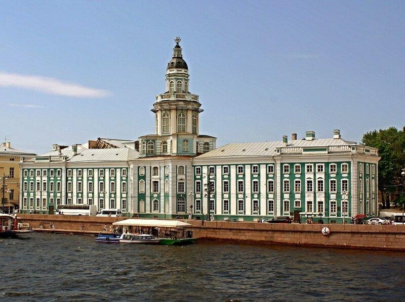 Кунсткамера. Васильевский остров. Санкт-Петербург.