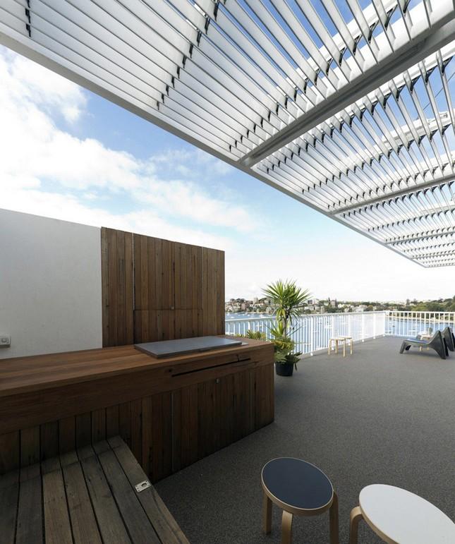 Пентхаус с видом на гавань в Сиднее