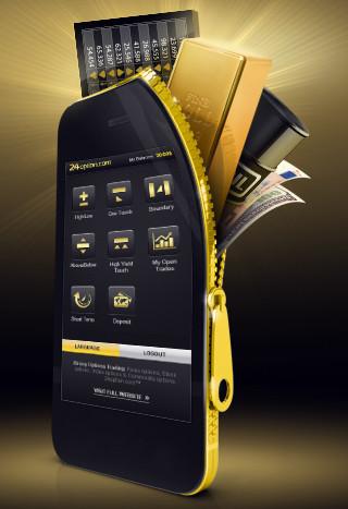 24option Мобильная торговля Online