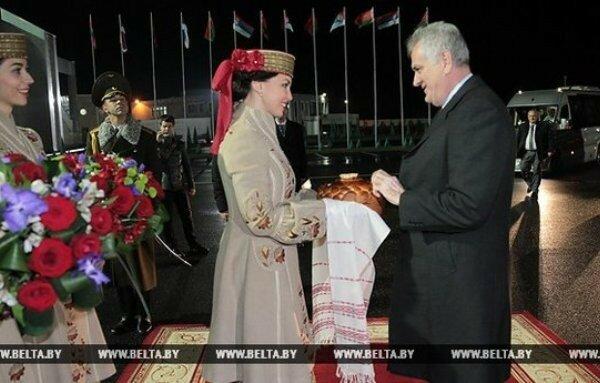 Сербия, Белоруссия, Минск, визиты, Николич