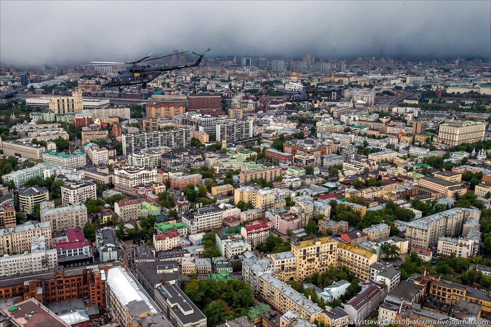 Москва от центра до области