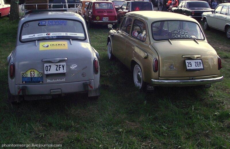 Слева ЗАЗ-965А, 1965 г., справа ЗАЗ-965А, 1966 г.