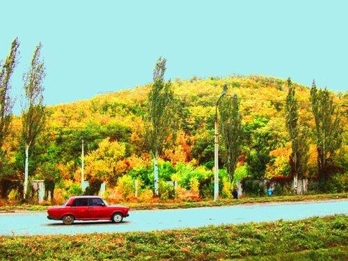 Террикон осенью