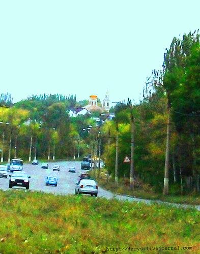 Храм над городом