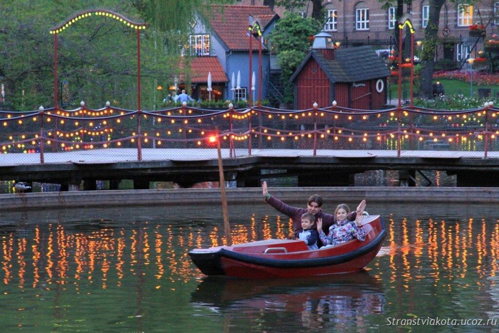Парк Тиволи, Дания, фото