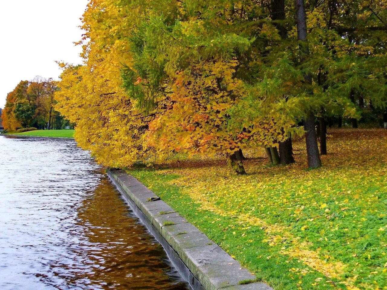 Елагин остров осенью.