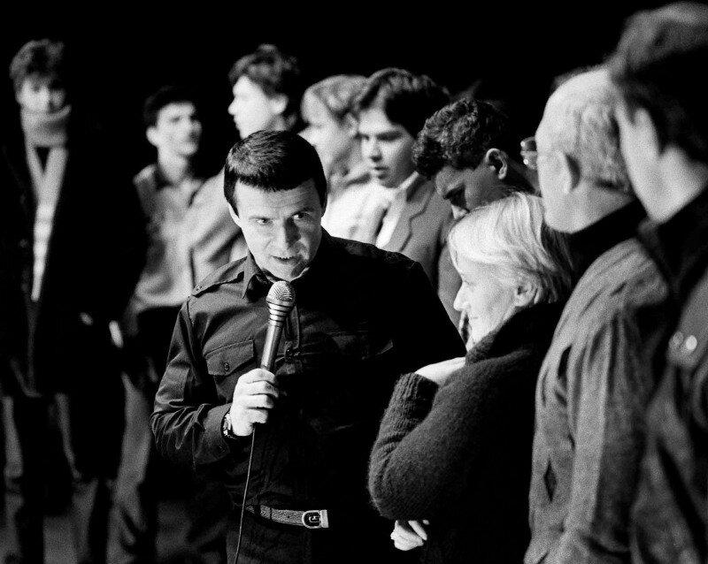 """Анатолий Кашпировский, 1988 год. Снимок с фотовыставки """"Иконы 90-х"""""""