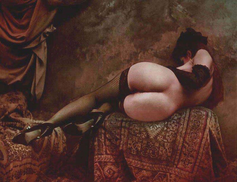 Jan Saudek, The Dancer, 1997