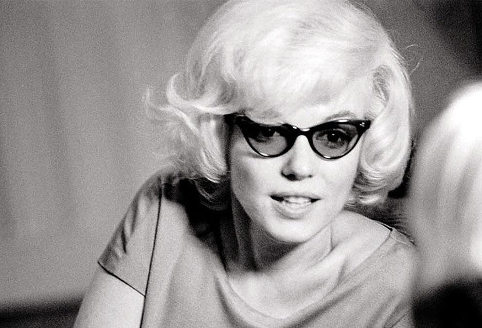 Актриса Мэрилин Монро, фотограф Лен Стеклер, декабрь 1961 года