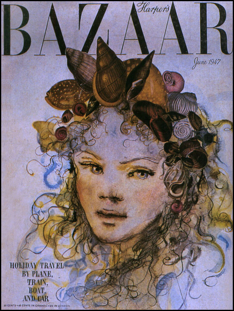 Leonor Fini — Harper's Bazaar — June 1947