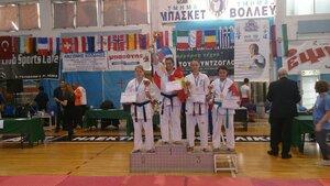 Чемпионат Европы Греция, Волос 3 место Виноградова Александра до 65 кг