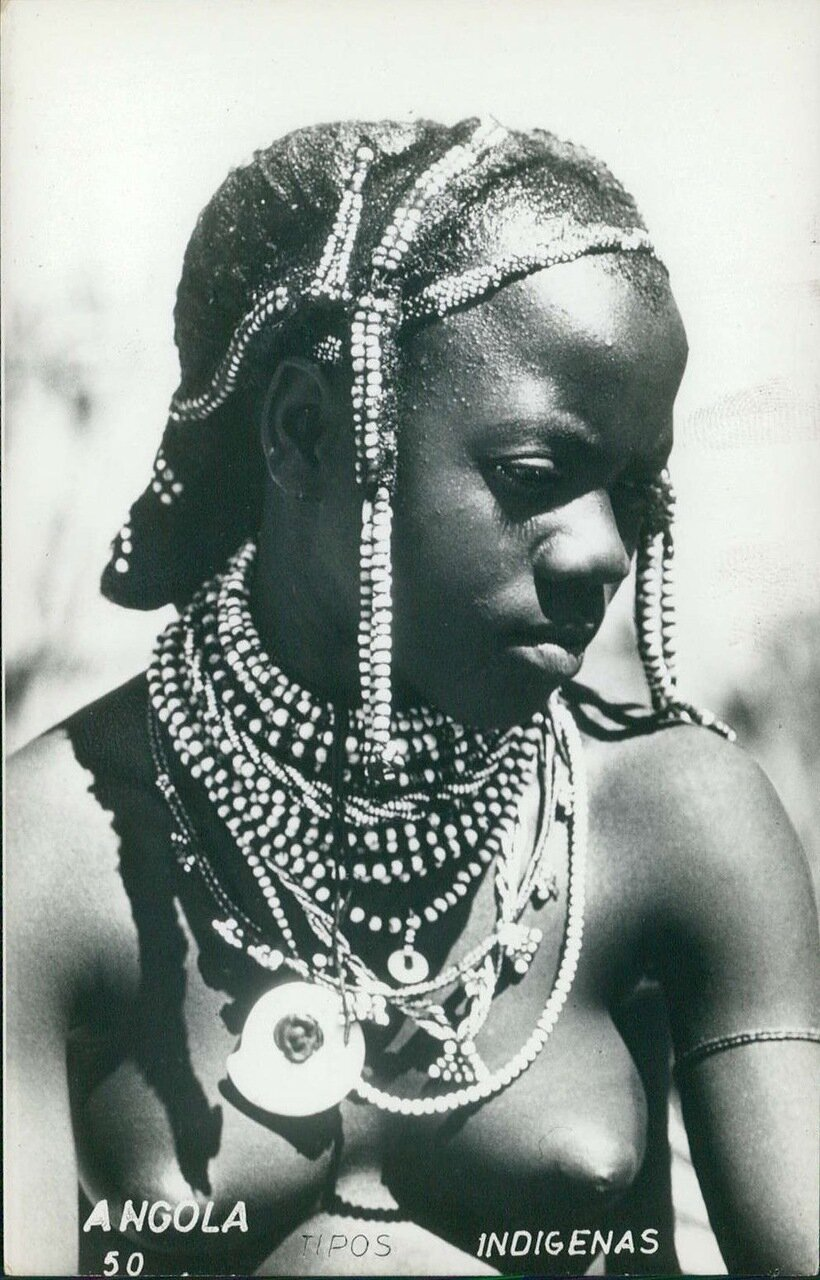 1960-е. Девушка из Анголы