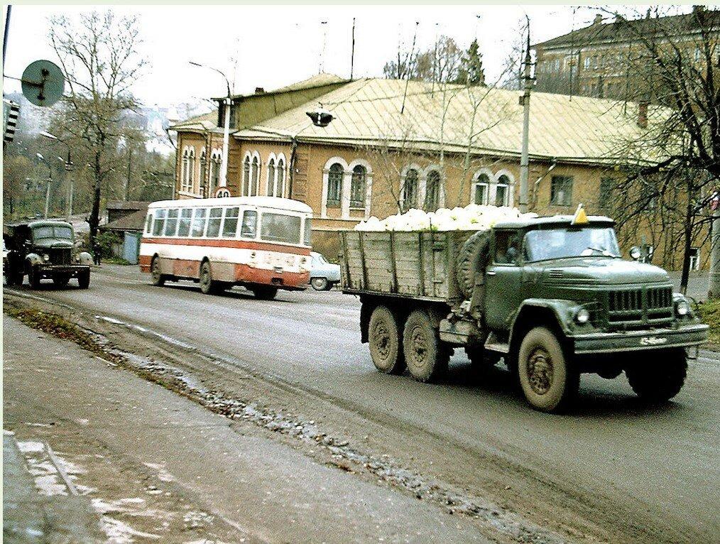 Москва. Унылое место по пути в Загорск