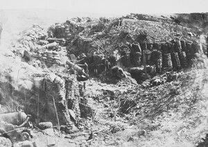 08. На Малаховом кургане - Фланговые орудия Редана. 8 сен. 1855