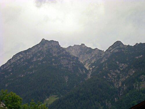 Первая встреча с Альпами