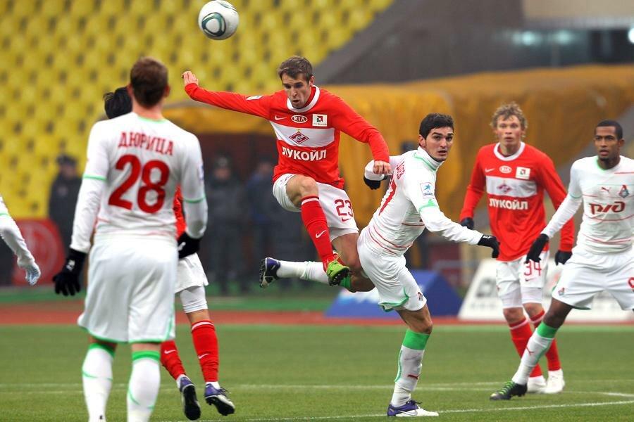 «Спартак» vs «Локомотив» 2:0 Премьер-лига 2011-2012 (Фото)