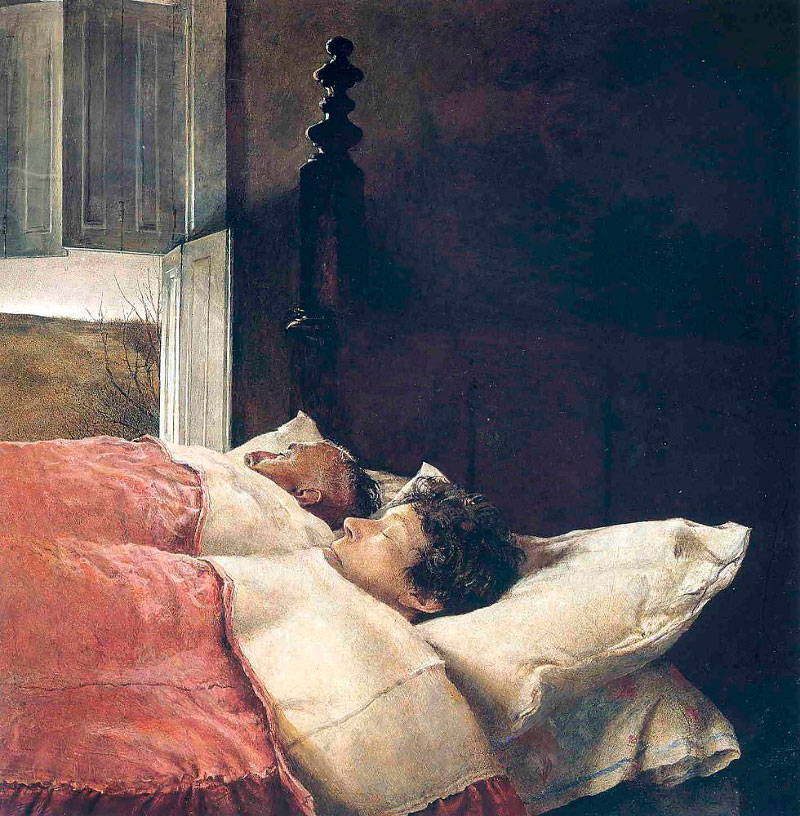 a biography of andrew wyeth an american painter