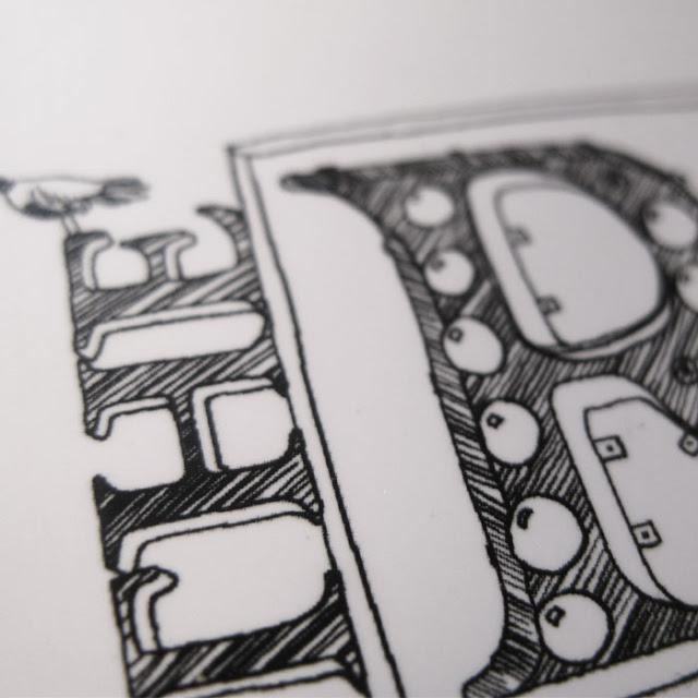 Графика, иллюстрации, городские зарисовки от Лоры Барнард / Laura Barnard