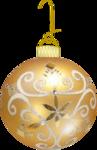 новогодний золотой