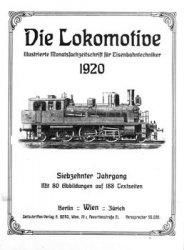 Die Lokomotive 17.Jaghrgang (1920)