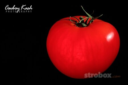 Как фотографировать помидор| световая схема