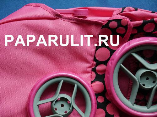 Коляска для кукол розовая.jpg