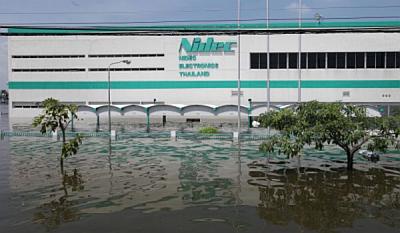 Гордо плывущий корпус завода Nidec