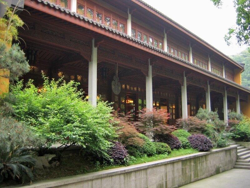 Трапезная, Монастырь Линъиньсы, Ханчжоу