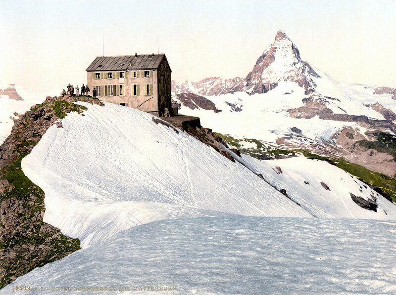 15. Отель «Горнергарт» и гора Маттергорн