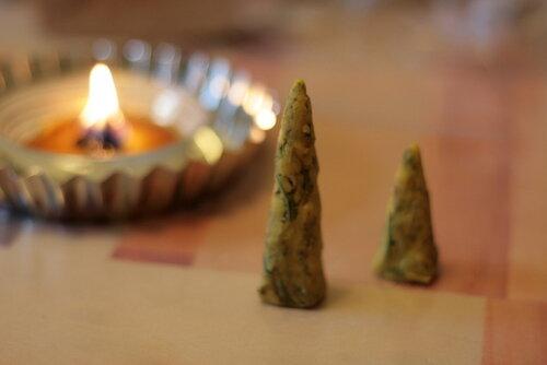 колдовские безфитильные свечи