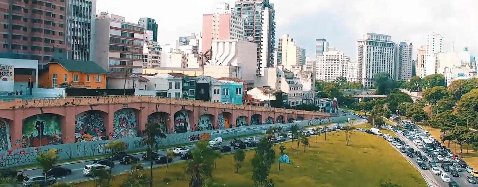 Os incriveis graffitis de Sao Paulo vistos atraves de um drone (9 pics)