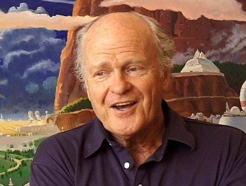 Robert Mccall. Картины освоения космоса