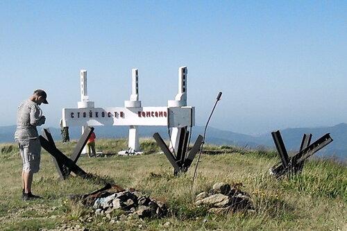 Сентябрь 2011, на вершине Семашхо