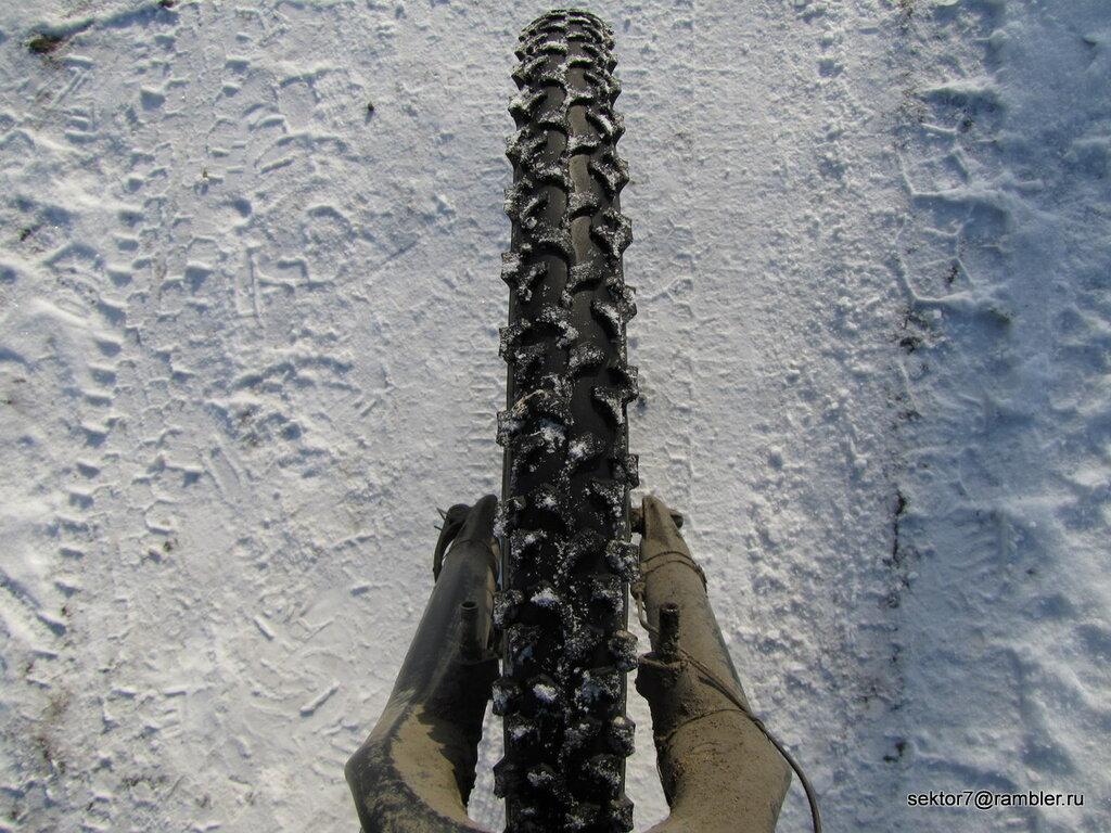 Небольшая зимняя велопрогулка