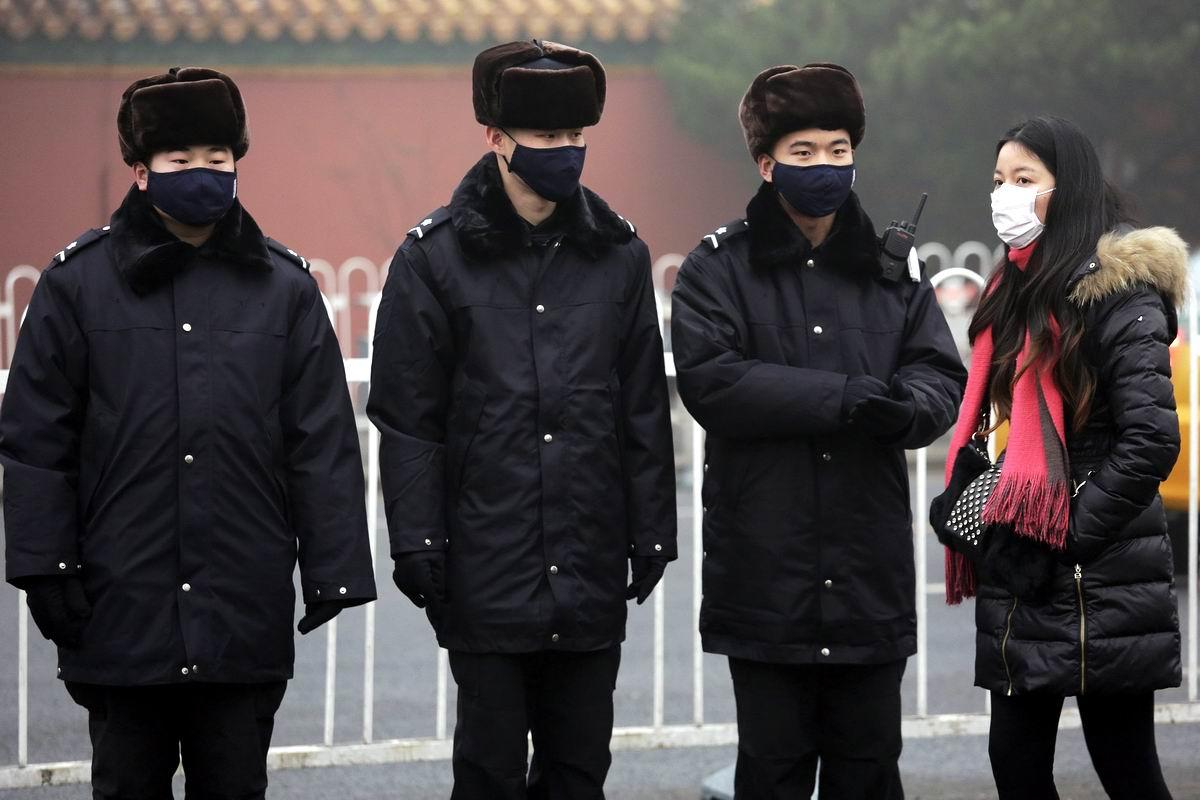 Маска, а я Вас знаю: Повседневный маскарад на улицах Пекина