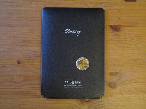 PocketBook 611 Basic, вид сзади