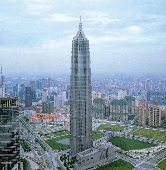 Башня Цзинь Мао (Jin Mao). Шанхай, Китай