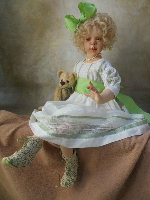 Автор куклы Сьюзан Крей ( Susan E. Krey )